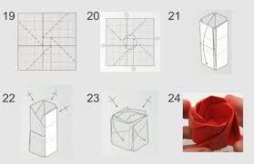 cara membuat origami bunga yang indah cara membuat origami bunga mawar yang mudah dan mirip dengan asli