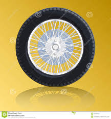 bugatti symbol nice wheel with spokes for old car bugatti stock vector image