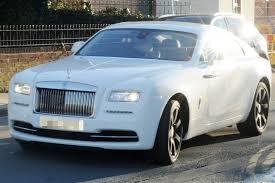 murdered rolls royce wraith daniel sturridge show off his new 235k car mirror online