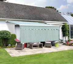 Drop Down Awnings 2 5m Dropdown Green And White Valance 1m Drop 35 99