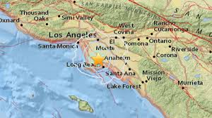 Newport Inglewood Fault Map Magnitude 3 4 Earthquake Strikes Near Carson Ktla