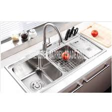 Cm Topmount  Triple Bowl Undermount Stainless Steel - Triple sink kitchen
