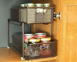 kitchen storage racks shelves sliding wire cabinet biji us pullout