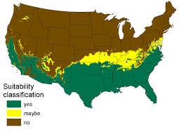 United States Climate Map by Usgs Maps Show Potential Non Native Python Habitat Along 3 Us