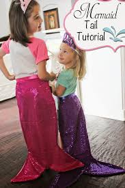 mermaid tail tutorial full how to includes downloadable pattern