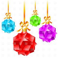 christmas decorations made of stars vector image 8018 u2013 rfclipart