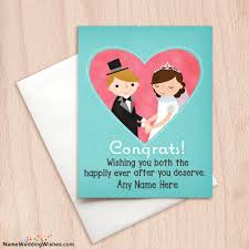wedding wish card what is best message to send to wish happy wedding quora