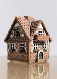 miniature model of a house from ceramics stock photo colourbox