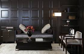 Wall Wood Paneling by Https Www Google Pl Search Q U003dczarny Salon Black And White