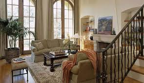 the lovely interiors of rustic living rooms