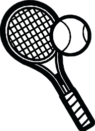 tennis racket colouring pages pose coloring nike shoe ball