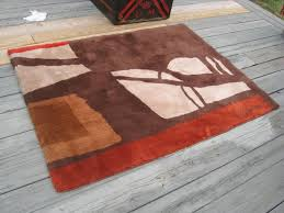 Abstract Area Rugs Brown Abstract Area Rugs Deboto Home Design Warmth With