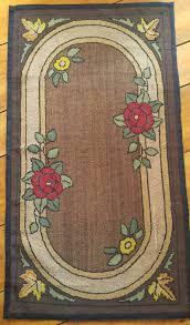 Antique Rug Hooking Tools Antique Nova Scotia Hooked Rug Antique Hooked Mat Hooked