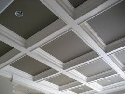 coffered ceiling paint ideas interior elegant image of home interior decoration using grey