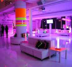Neon Themed Decorations Neon Party Decorations For Columns Party Theme Neon Theme