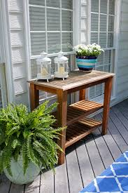 potted plants flowers add color to patio makeover