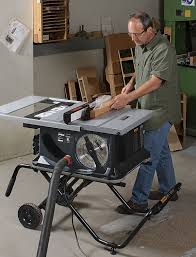 Woodworking Magazine Table Saw Reviews by Sawstop Jss Mca Job Site Tablesaw Finewoodworking