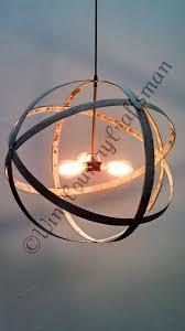 Atom Chandelier Made Atom Premier Wine Barrel Ring Pendant Chandelier By