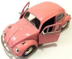 pink volkswagen beetle rmz city 1967 classic volkswagen vw beetle 1 32 scale model car