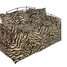 zebra print daybed beddingset multi colored animal print daybed
