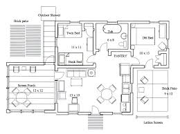 Kitchen Design Layout Ideas Kitchen Floor Plan With Dimensions Impressive Impressive Small