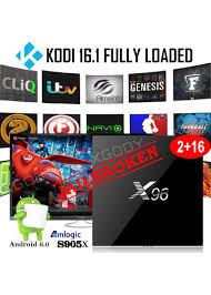 kodi xbmc android newest 2 16gb android 6 0 smart 4k tv box s905x kodi