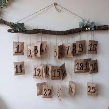 Calendrier De L Avent Fabriquer Un Calendrier De Diy Noël Fabriquer Un Calendrier De L Avent