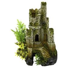 classic pet products underwater kingdom aquarium ornament castle