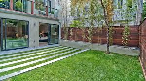Concrete Slabs For Backyard by Planter Fence Landscape Contemporary With Concrete Planters