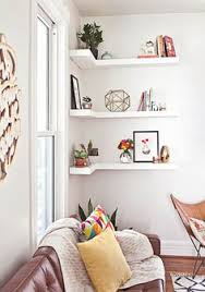 Cheap Corner Shelves by A Combination Of The Geometric Shelf And The Corner Shelf The