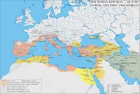 Map Mediterranean Maps Of Roman Mediterranean Ap Latin For Rabbits