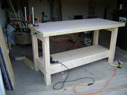 Woodworking Bench Top Plans by Weekend Workbench
