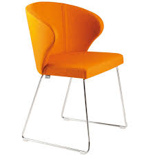 orange dining room chairs modern chairs design