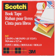 amazon com scotch book tape 2 inches x 15 yards 845