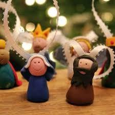 diy how to make a clay nativity set clay nativity