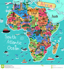 africa map africa map stock vector image 65247227