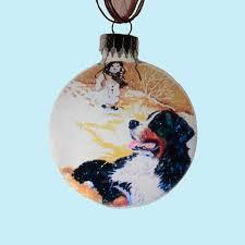 australian shepherd ornament bernese mountain dog big gentle dogs