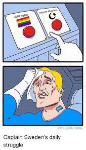 Sweden Meme - 25 best memes about captain sweden captain sweden memes
