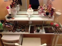 Makeup Organizer Desk Bench Makeup Vanity Table With Lighted Mirror Ikea Ikea Alex