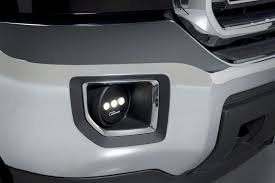2013 ford f150 fog light replacement luminix high power led fog ls for 2007 2014 gmc sierra 1500 and hd