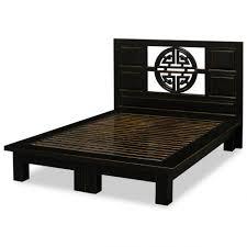 Japanese Style Platform Bed Bed Frames Black Japanese Style King Size Platform Frame With