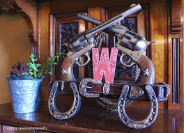 Western Style Centerpieces by A Kickin U0027 Cowboy Birthday Party Spaceships And Laser Beams