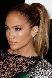 j lo ponytail hairstyles jennifer lopez straight light brown high ponytail ponytail