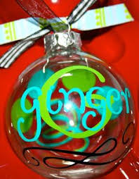personalized christmas ornament by dottedzebraboutique on etsy