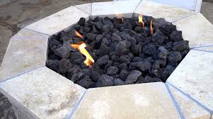 Propane Fire Pits With Glass Rocks by Fire Pit Lava Rock Adjustmernt Youtube