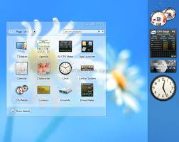 gadgets bureau windows 8 8gadgetpack récupère les gadgets win 7 ou vista pour windows 8 et