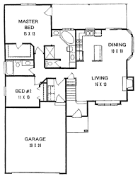 ranch house floor plan 239 best bungalows 1400 sq images on house