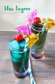 blue hawaiian cocktail blue lagoon cocktail recipe sugar spice and glitter