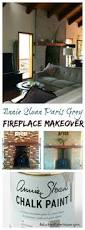 annie sloan paris grey fireplace makeover reluctant entertainer