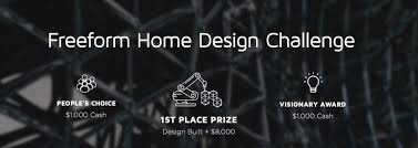 design a home that uses 3d printing for a chance at 10 000